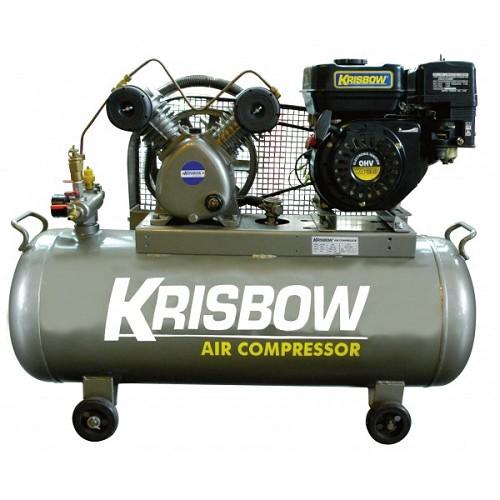 KRISBOW Gasoline Compressor 2Hp [KW1300350] - Kompresor Angin